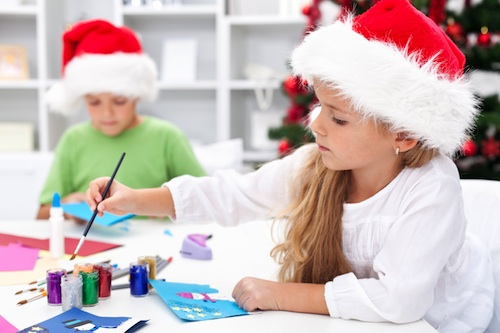 preparando la Navidad Dentikids
